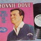 RONNIE DOVE SINGS THE HITS FOR YOU--VG++/VG+ 1966 LP