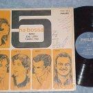 NARA,EDU LOBO,TAMBA TRIO-5 NA BOSSA-Mono 1965 Brazil LP