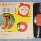 BOBBY RYDELL-TOP HITS OF 1963-LP w/Bonus 45 rpm Record