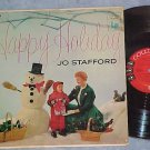 JO STAFFORD-HAPPY HOLIDAY--1955 LP-Columbia 6-eye label