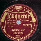 78--GENE AUTRY--MEXICALI ROSE--1935--Conqueror 8629
