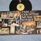 MINNIE PEARL--COUNTRY MUSIC STORY--NM/VG++ LP-Autograph