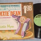Accordion LP--DIXIE DEAN--SONGS FOR CHILDREN--Zondervan