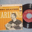 EP w/PS-TERRY GILKYSON--MARIANNE--1957--Columbia B-2124