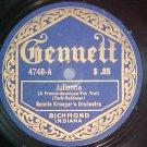78--BENNIE KRUEGER--JULIENNE--1921--Gennett 4748--VG++