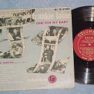 "FRANKIE LAINE-ONE FOR MY BABY-10"" 1952 LP-Columbia 6200"