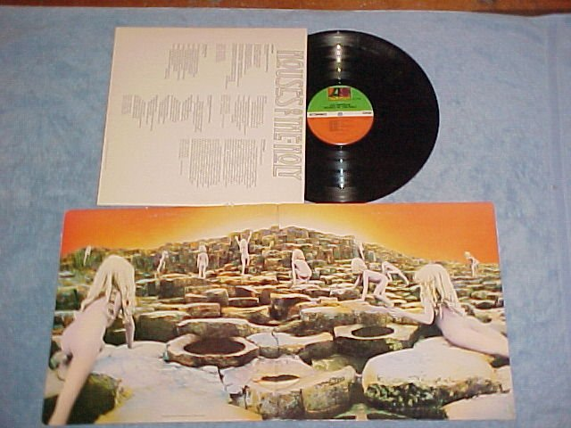 LED ZEPPELIN--HOUSES OF THE HOLY--VG+ Columbia House LP