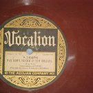 Brown Wax 78-GENE FOSDICK'S HOOSIERS-Vocalion 14496-VG+