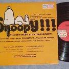 SNOOPY!!--NM 1975 Original Cast Sdk LP on DRG Records