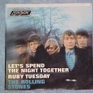 45 PS-ROLLING STONES-LET'S SPEND THE NIGHT TOGETHER--NM