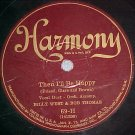 78-BILLY WEST AND BOB THOMAS-THEN I'LL BE HAPPY-Harmony