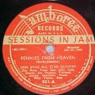 78-DON BYAS-PENNIES FROM HEAVEN--1945-Jamboree 901--VG+