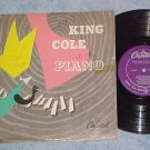 "(NAT) KING COLE AT THE PIANO-10"" 1950 LP--Capitol H-156"