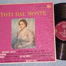 TOTI DAL MONTE--Self Titled VG++/VG Italy RCA Victor LP