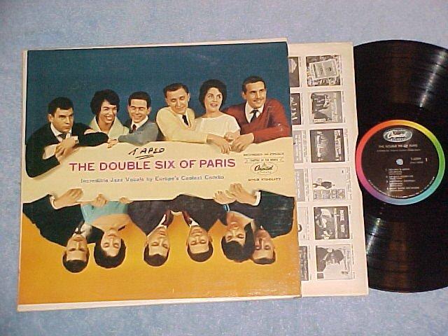THE DOUBLE SIX OF PARIS--Self Titled NM/VG+ Capitol LP