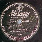 78--RONNIE DEAUVILLE--GLORIA--1948--Mercury 5193--VG+