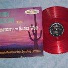 BUDDY BREGMAN-SYMPHONY GOLDEN WEST-Stereo LP--RED VINYL