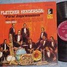 FLETCHER HENDERSON-FIRST IMPRESSIONS--1924-31--Decca LP