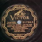 78-FRANKLYN BAUR-I LOVED YOU THEN..-Victor Scroll 21734