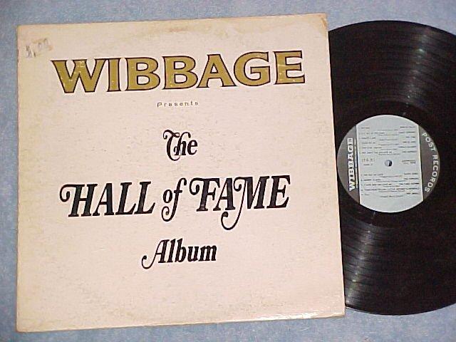 WIBBAGE (WIBG,Phila.) HALL OF FAME ALBUM-c.1966 Rock LP