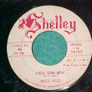 45-AUGIE RIOS-AUGIE STAY HOME/LULLABY-1963--Shelley 185