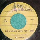 45-MIKE PETTISON QUARTET-I'LL ALWAYS LOVE YOU SOME-1952