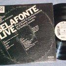 BELAFONTE LIVE--Rare Radio WL Promo LP--RCA SPS-33-572
