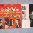 THE 4 SEASONS' CHRISTMAS ALBUM--NM/VG+ 1966 LP (four