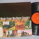 THE MUSIC FROM MARLBORO COUNTRY--NM Stereo 1967 Sdk LP