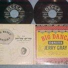Dbl EP w/PS--JERRY GRAY--BIG DANCE TONITE--1958--Decca