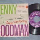 EP w/PS-BENNY GOODMAN-SWING INTO SPRING-Texaco Promo-#2