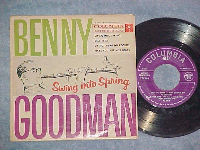 EP w/PS-BENNY GOODMAN-SWING INTO SPRING-Texaco Promo-#1