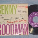 EP w/PS-BENNY GOODMAN-SWING INTO SPRING-Texaco Promo-#1