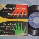 EP w/PS--BENNY GOODMAN GROUP--HONEYSUCKLE ROSE--NM/VG+