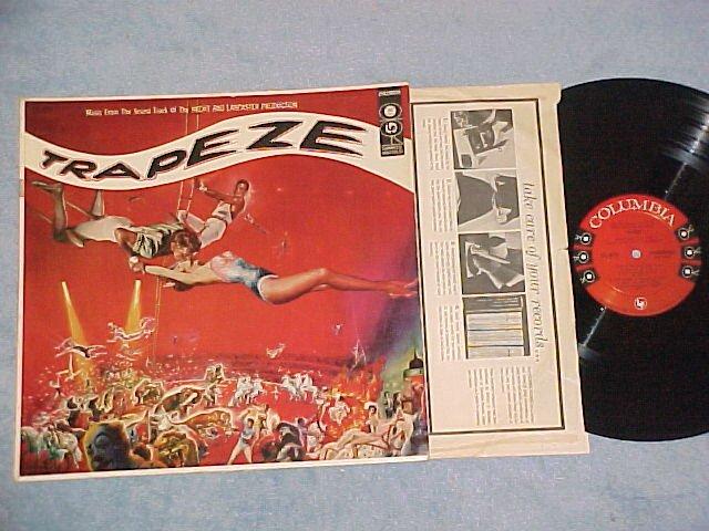 TRAPEZE--NM/VG+ 1956 Sdk LP--6-eye--Gina Lollabrigida