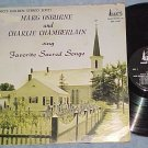 MARG OSBURNE&C CHAMBERLAIN-SACRED SONGS-Canada LP-Banff