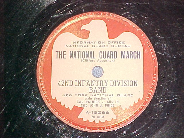 78--NY 42nd INFANTRY DIVISION--THE NATIONAL GUARD MARCH
