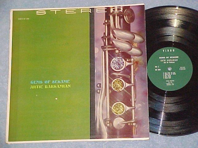 ARTIE BARSAMIAN-GEMS OF SESAME-'63 Middle East Virgo LP