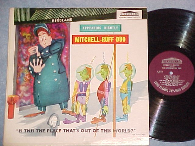 MITCHELL-RUFF DUO--APPEARING NIGHTLY--NM/VG++ Mono LP