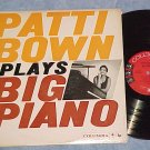 PATTI BOWN PLAYS BIG PIANO--VG++/VG+ Mono 1959 Promo LP
