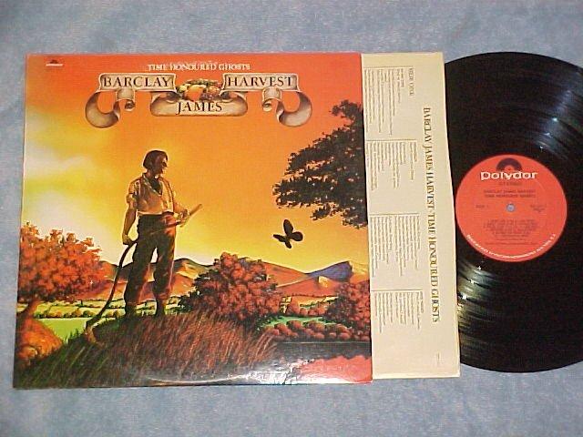 BARCLAY JAMES HARVEST--TIME HONOURED GHOSTS--NM/VG++ LP