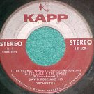 Stereo EP--DAVID ROSE AND HIS ORCH.--1959--Kapp SE-409