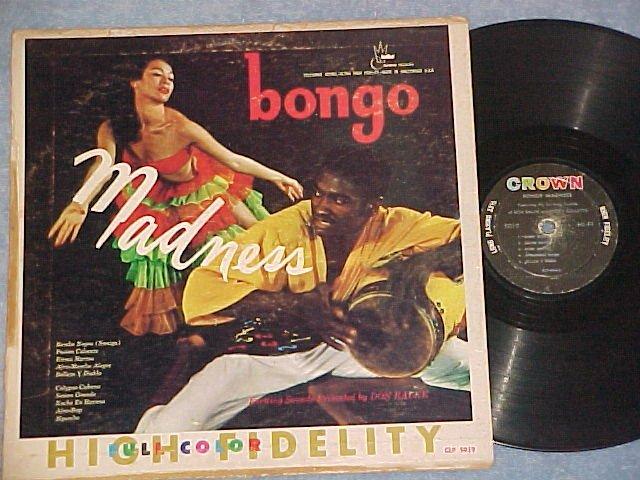 DON RALKE & BUDDY COLLETTE-BONGO MADNESS-LP ~Cheesecake