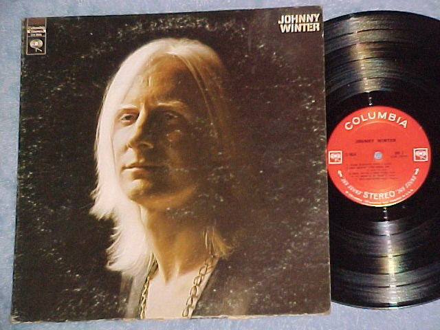 JOHNNY WINTER--Self Titled 1969 LP--Columbia CS-9826