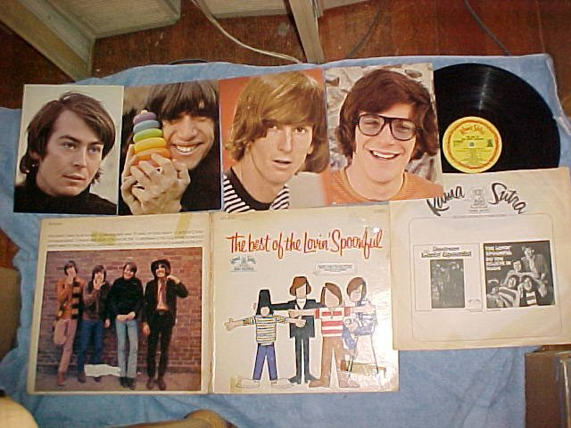 THE BEST OF THE LOVIN' SPOONFUL-1967 LP w/4 NM Pictures