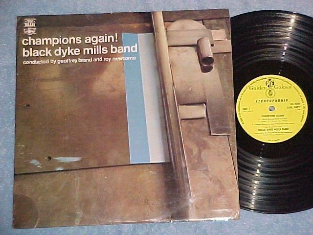 BLACK DYKE MILLS BAND--CHAMPIONS AGAIN--VG++ 1969 UK LP