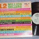 12 MILLION SELLERS--VOL II--1964 Rock/Doo Wop Cmpltn LP