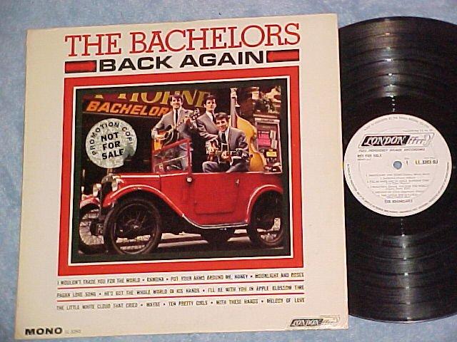 THE BACHELORS--BACK AGAIN--VG++ 1964 WL Promo London LP