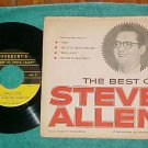EP w/PS--THE BEST OF STEVE ALLEN--Woodbury's Soap-'50's