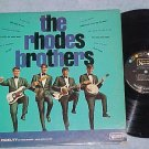 THE RHODES BROTHERS-NM/VG+ 1966 LP-United Artists 3531